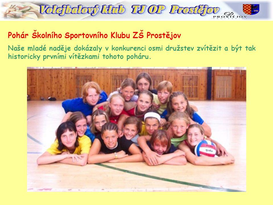 Pohár Školního Sportovního Klubu ZŠ Prostějov
