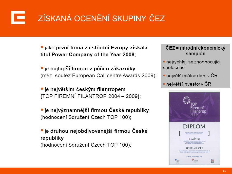 PRG-ZPD008-20041008-11373P1C INTERNETOVÉ STRÁNKY http://www.cez.cz