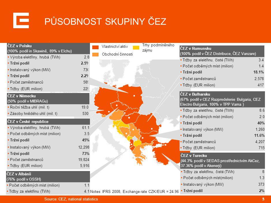PRG-ZPD008-20041008-11373P1C CÍLE SKUPINY ČEZ. INVESTICE DO ZDROJŮ OBNOVITELNÉ ENERGIE. ROZVOJ JADERNÉ ENERGETIKY.