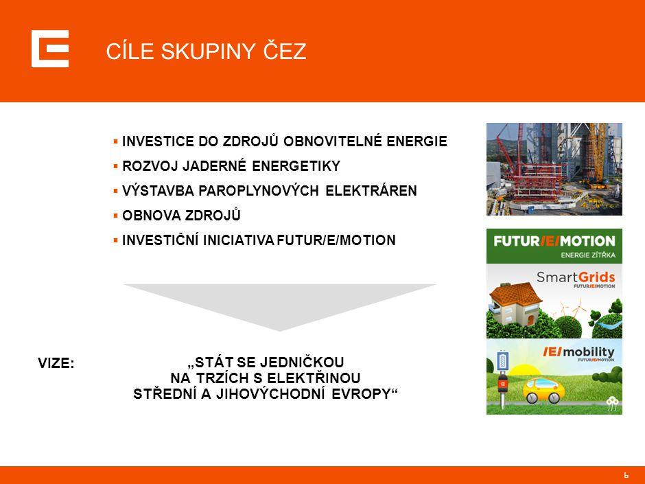SKUPINA ČEZ - SPOLEČENSKY ODPOVĚDNÁ FIRMA (CSR)