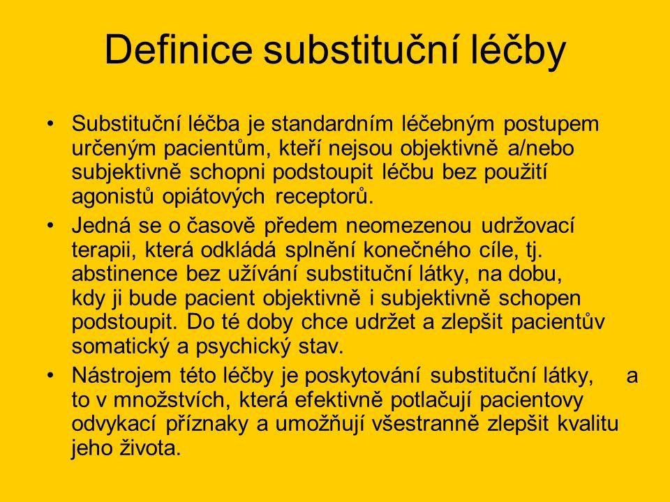 Definice substituční léčby
