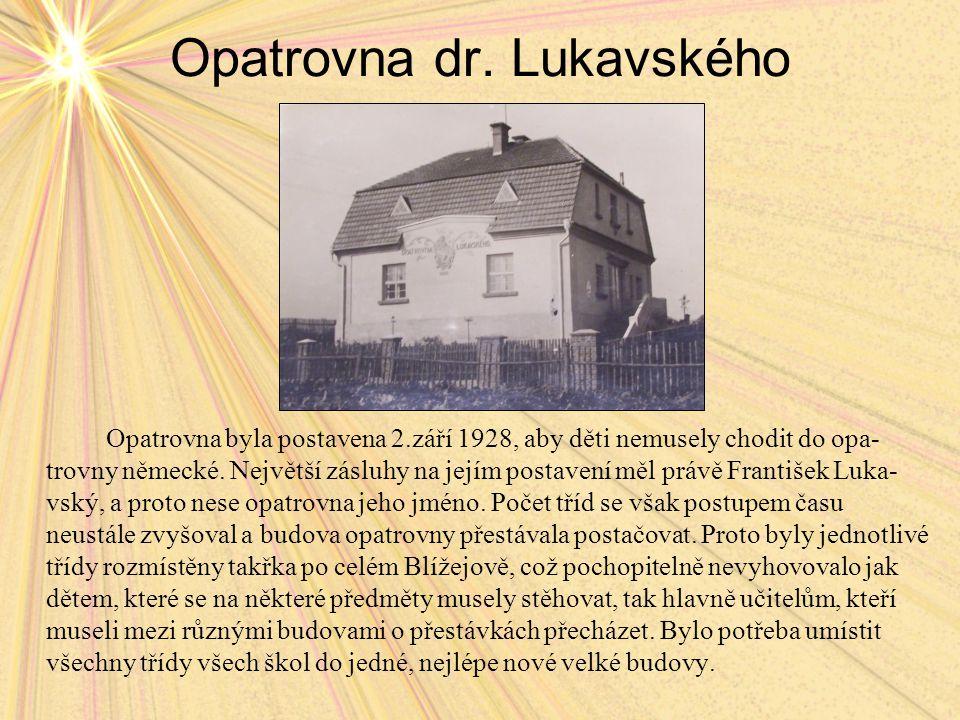 Opatrovna dr. Lukavského