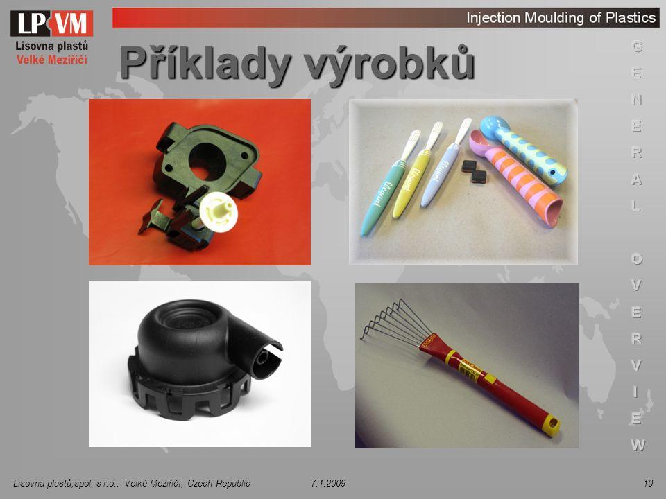Příklady výrobků 3 3 3 3 3 3