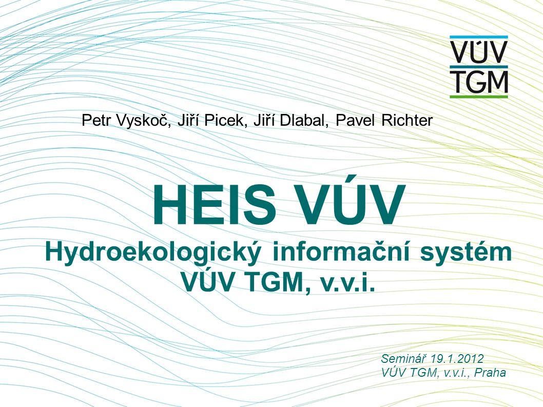 Hydroekologický informační systém VÚV TGM, v.v.i.