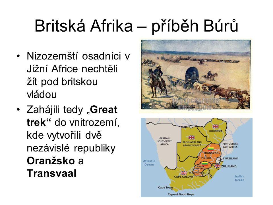Britská Afrika – příběh Búrů