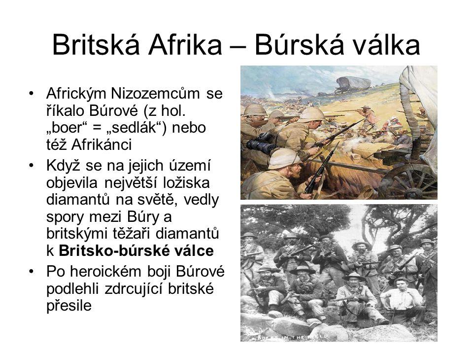 Britská Afrika – Búrská válka