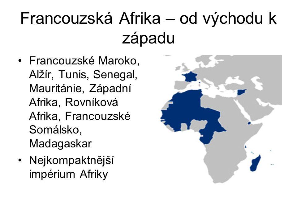 Francouzská Afrika – od východu k západu