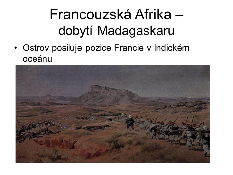 Francouzská Afrika – dobytí Madagaskaru