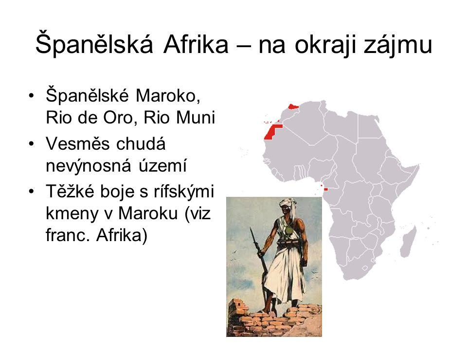 Španělská Afrika – na okraji zájmu