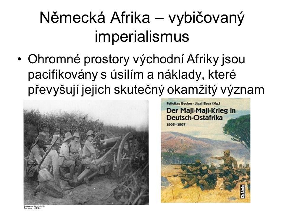 Německá Afrika – vybičovaný imperialismus