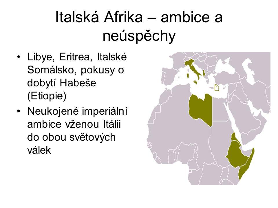 Italská Afrika – ambice a neúspěchy