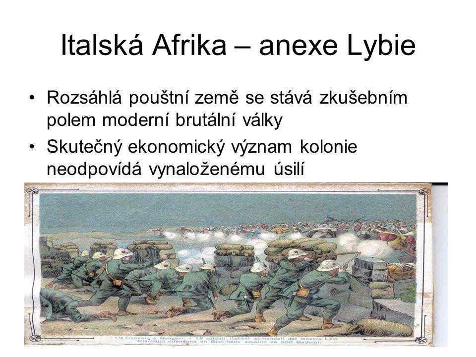 Italská Afrika – anexe Lybie