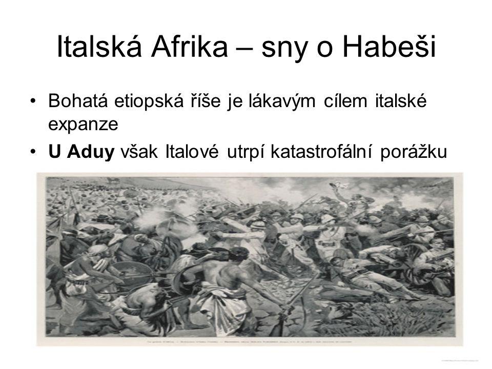 Italská Afrika – sny o Habeši