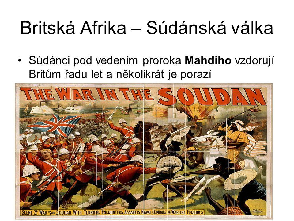 Britská Afrika – Súdánská válka