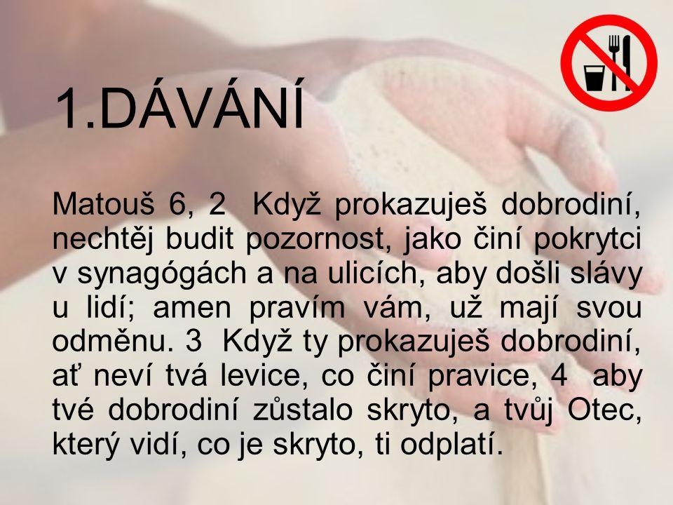 1.DÁVÁNÍ
