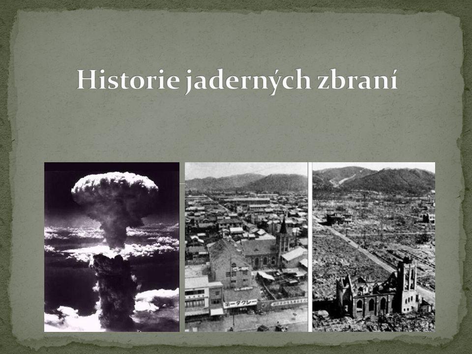 Historie jaderných zbraní