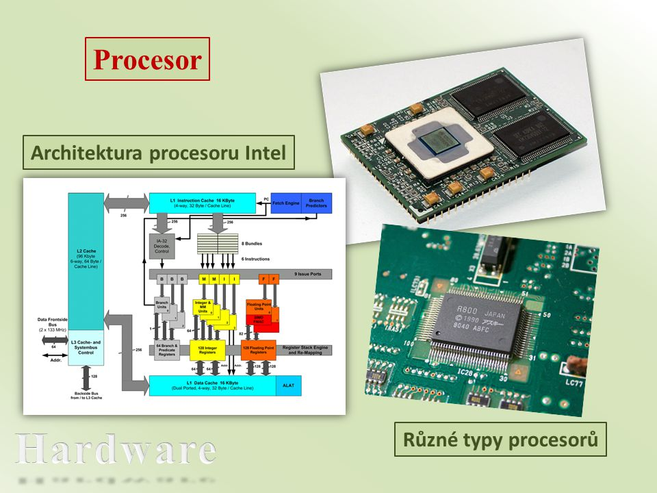 Architektura procesoru Intel