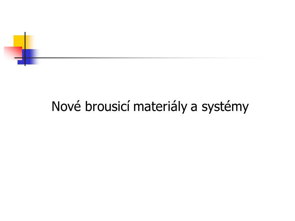 Nové brousicí materiály a systémy