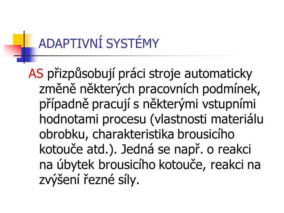 ADAPTIVNÍ SYSTÉMY