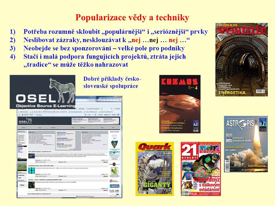 Popularizace vědy a techniky