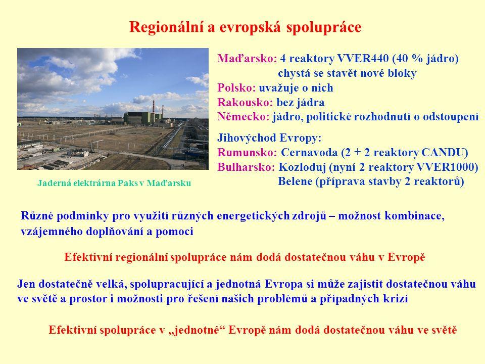 Regionální a evropská spolupráce