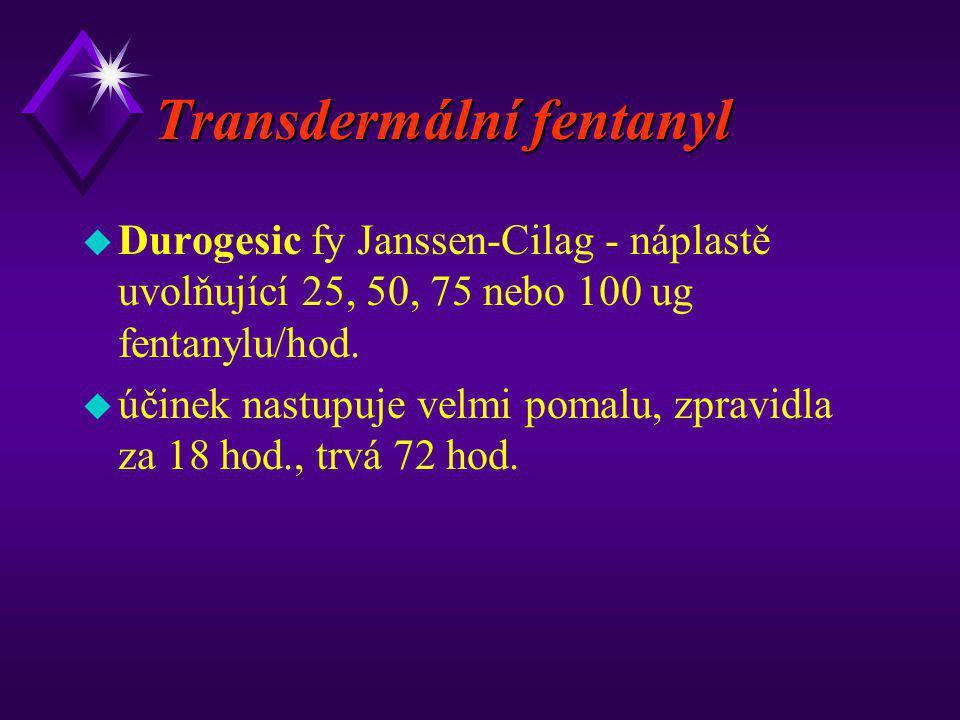 Transdermální fentanyl