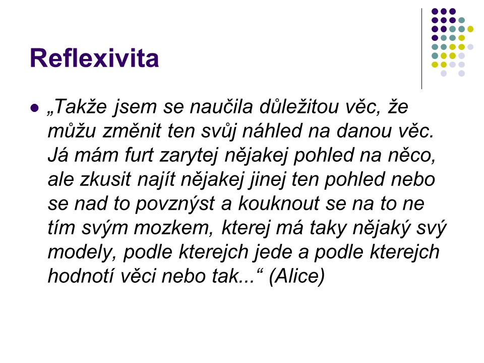 Reflexivita