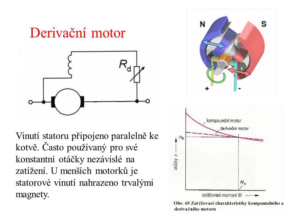 Derivační motor