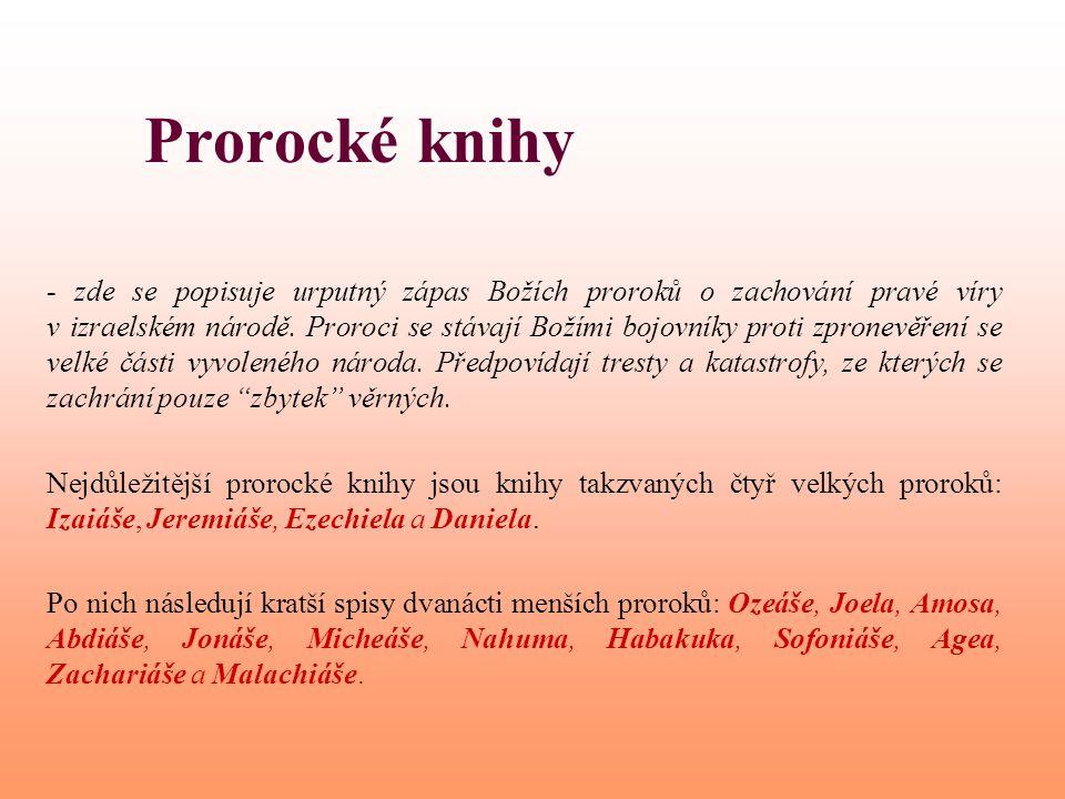Prorocké knihy