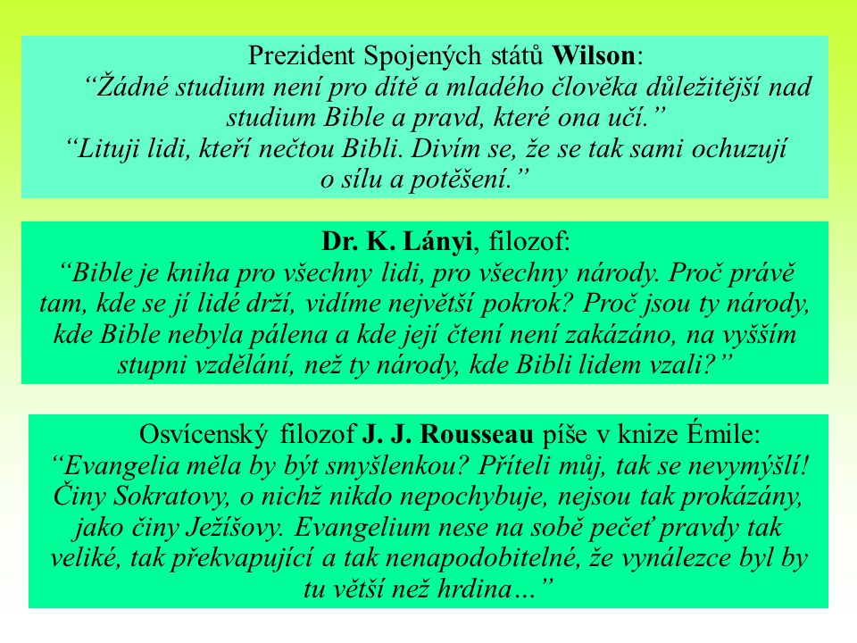 Prezident Spojených států Wilson: