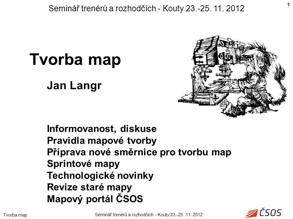 Seminář trenérů a rozhodčích - Kouty 23.-25. 11. 2012