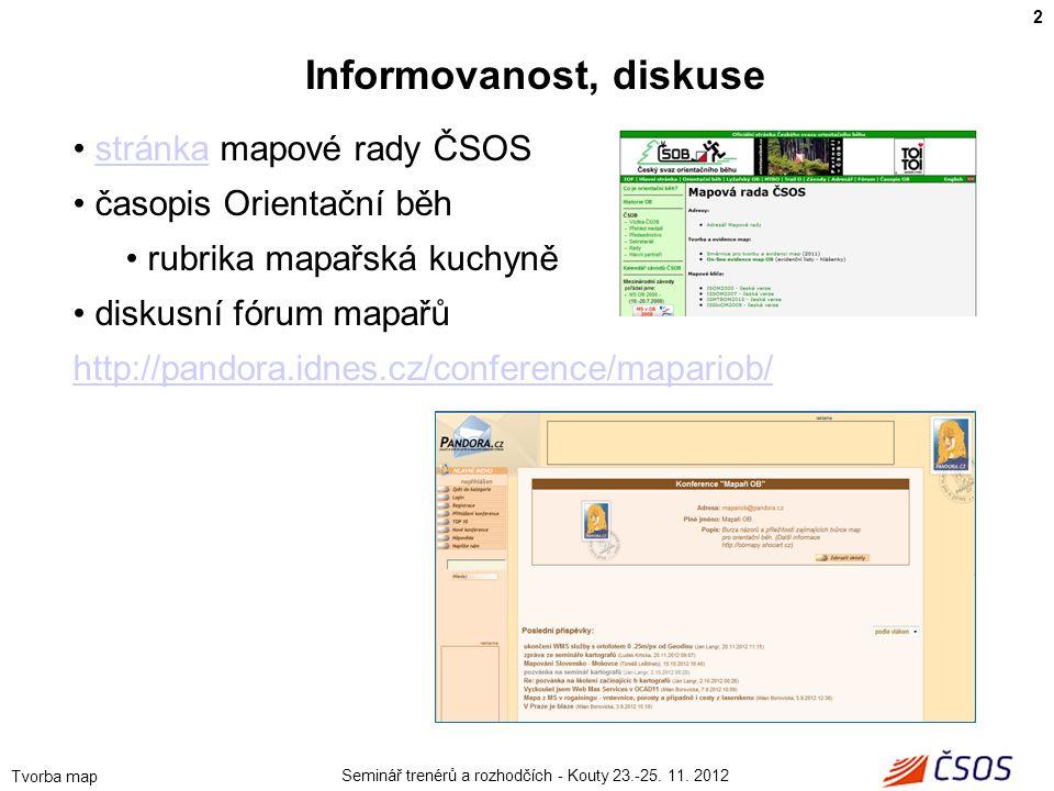 Informovanost, diskuse