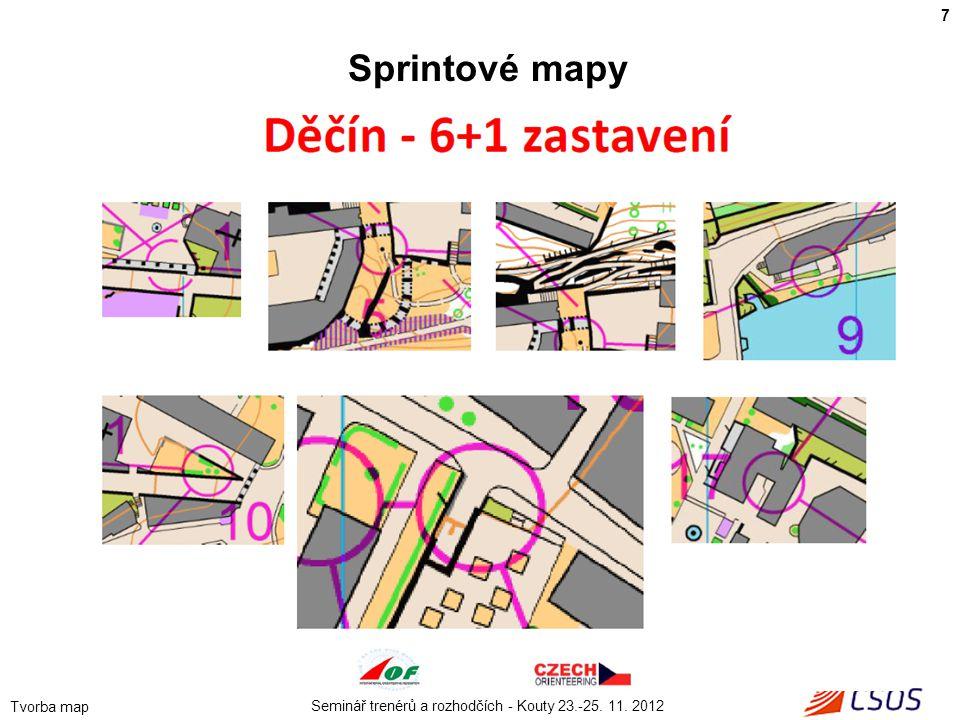 7 Sprintové mapy