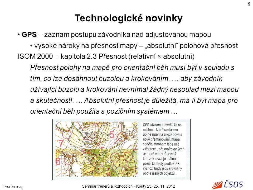 Technologické novinky