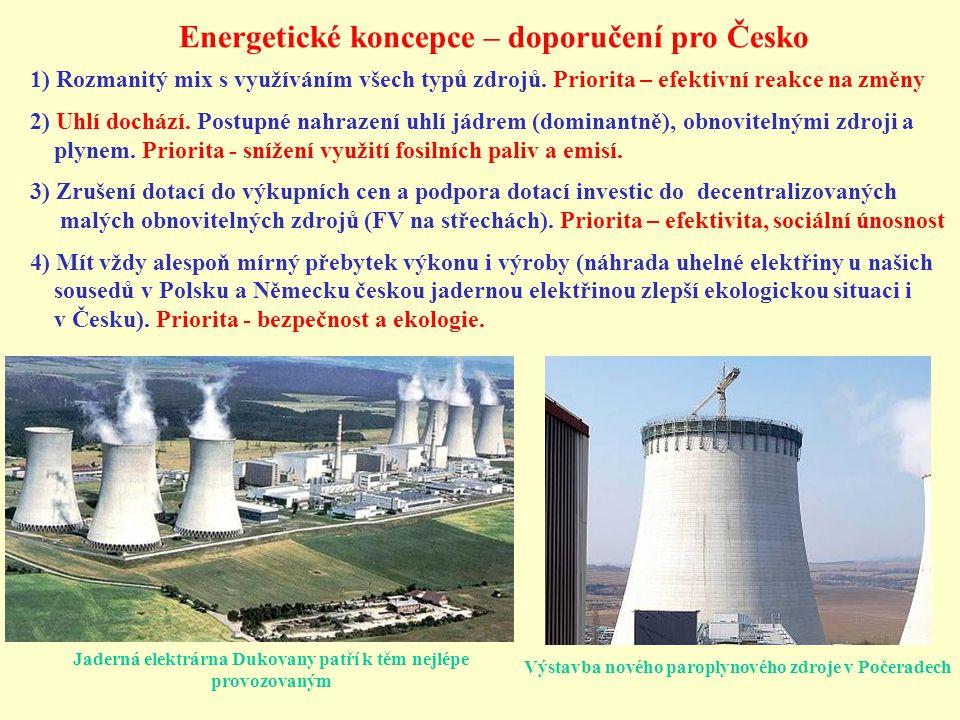 Jaderná elektrárna Dukovany patří k těm nejlépe provozovaným