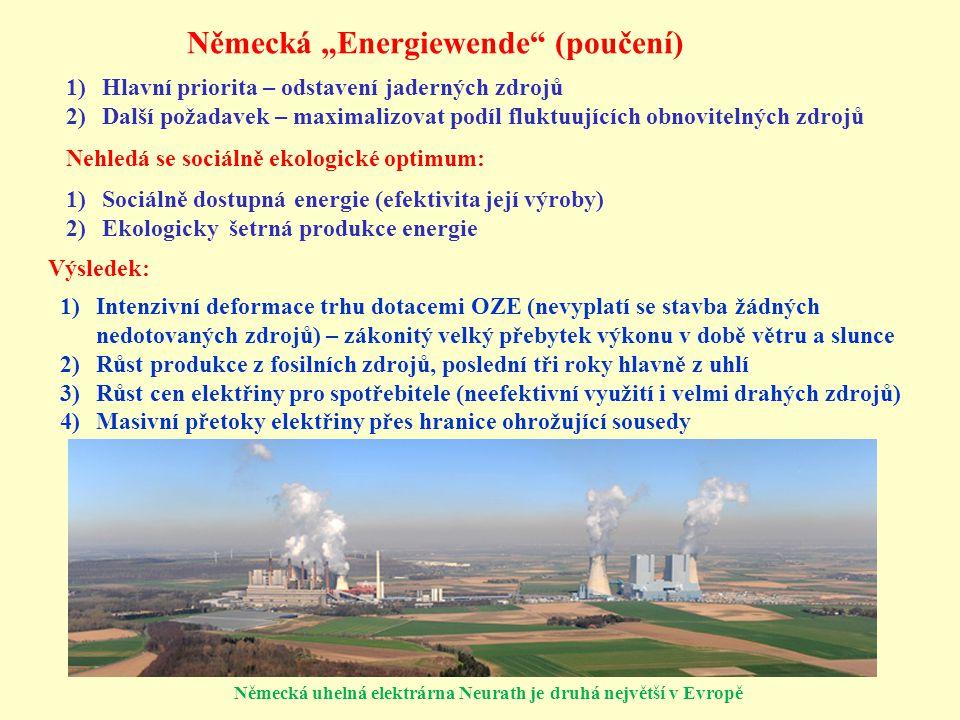 """Německá """"Energiewende (poučení)"""
