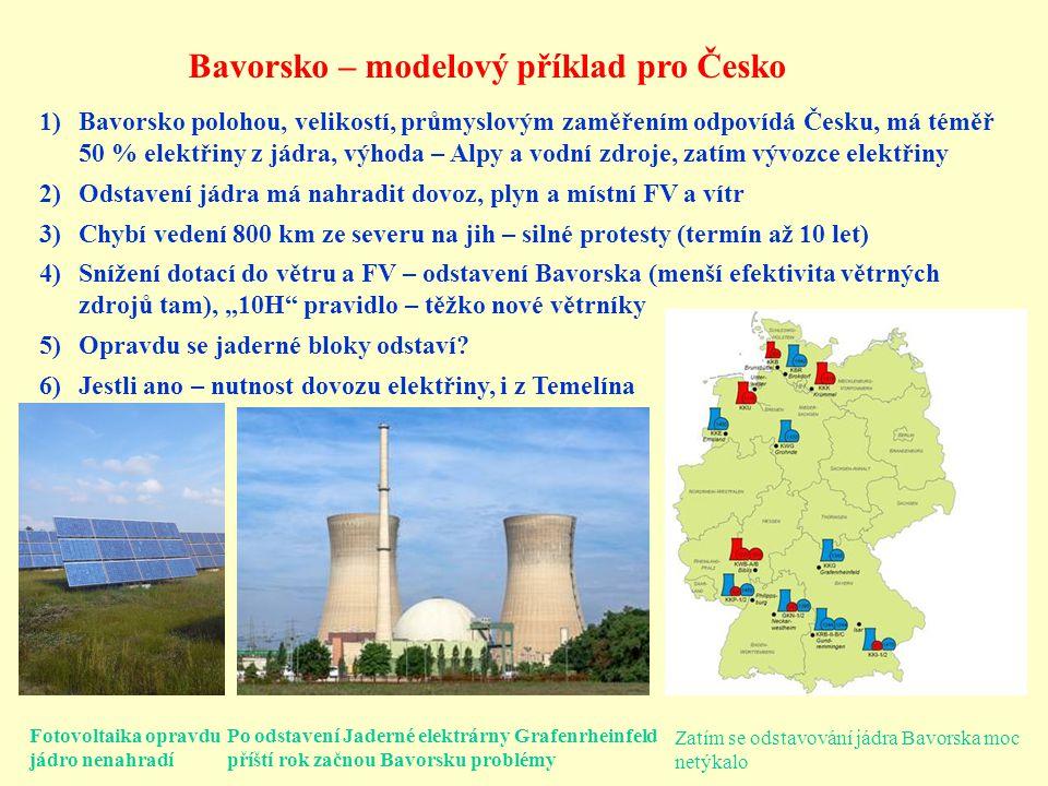 Bavorsko – modelový příklad pro Česko