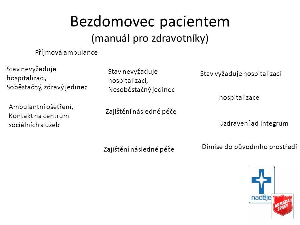 Bezdomovec pacientem (manuál pro zdravotníky)