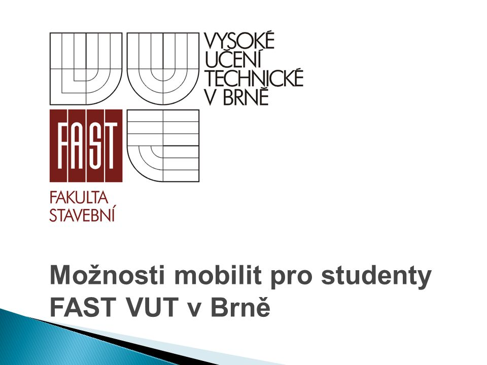 Možnosti mobilit pro studenty