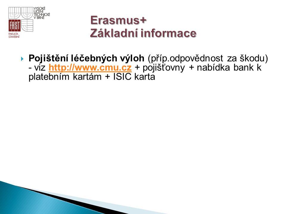 Erasmus+ Základní informace