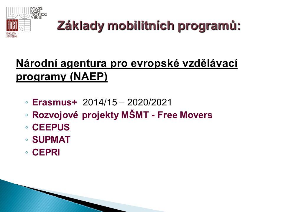 Základy mobilitních programů: