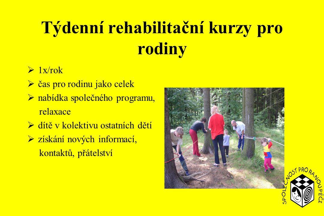 Týdenní rehabilitační kurzy pro rodiny