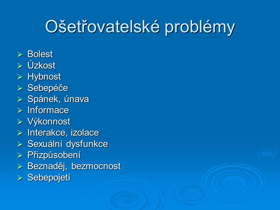 Ošetřovatelské problémy
