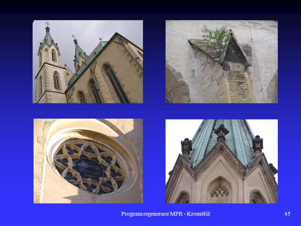 Program regenerace MPR - Kroměříž