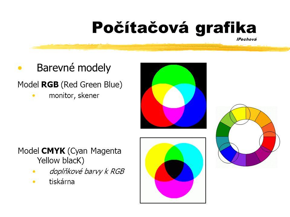 Počítačová grafika IPechová