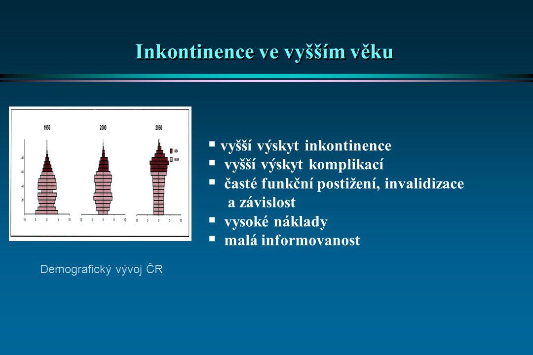 Inkontinence ve vyšším věku