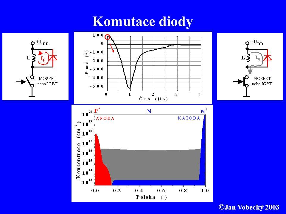 Komutace diody ©Jan Vobecký 2003
