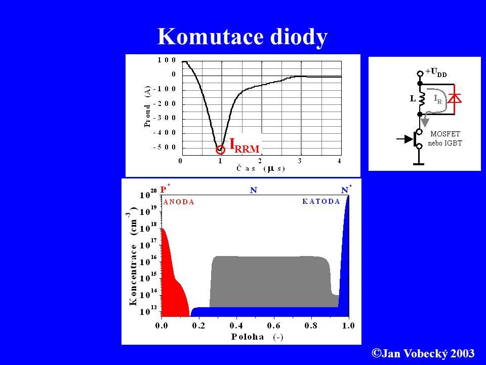 Komutace diody IRRM ©Jan Vobecký 2003