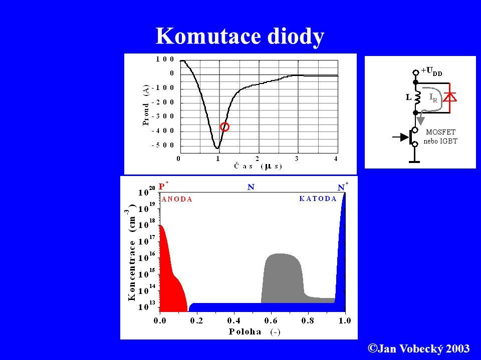 Komutace diody Komutace diody ©Jan Vobecký 2003