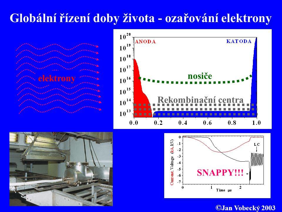 Globální řízení doby života - ozařování elektrony